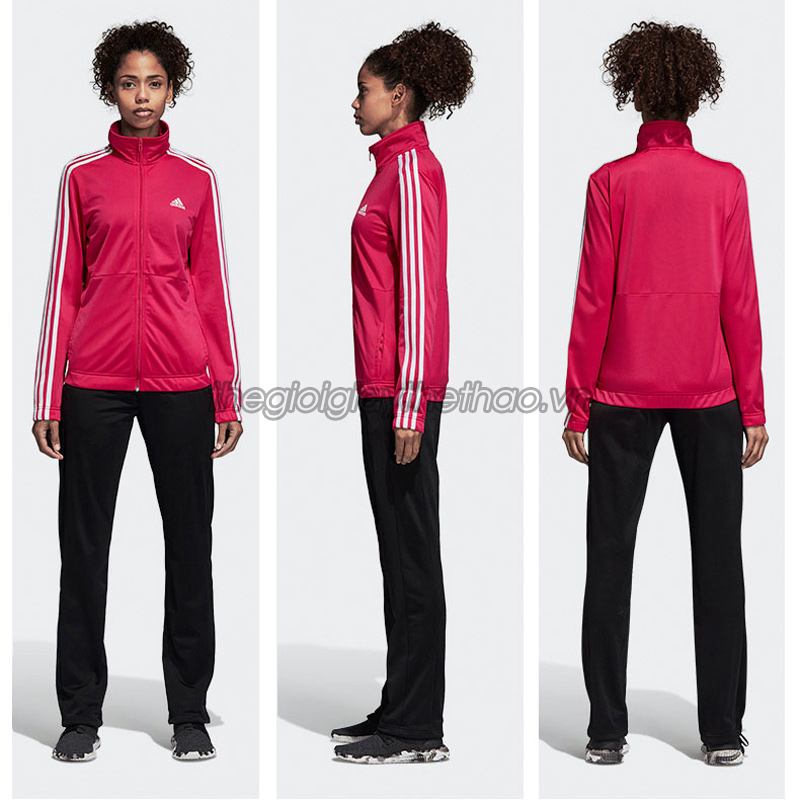 Bộ đồ thể thao nữ Adidas 3 Stripe Track Suit h2