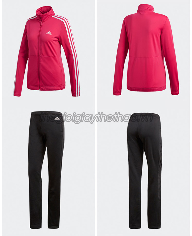 Bộ đồ thể thao nữ Adidas 3 Stripe Track Suit h6