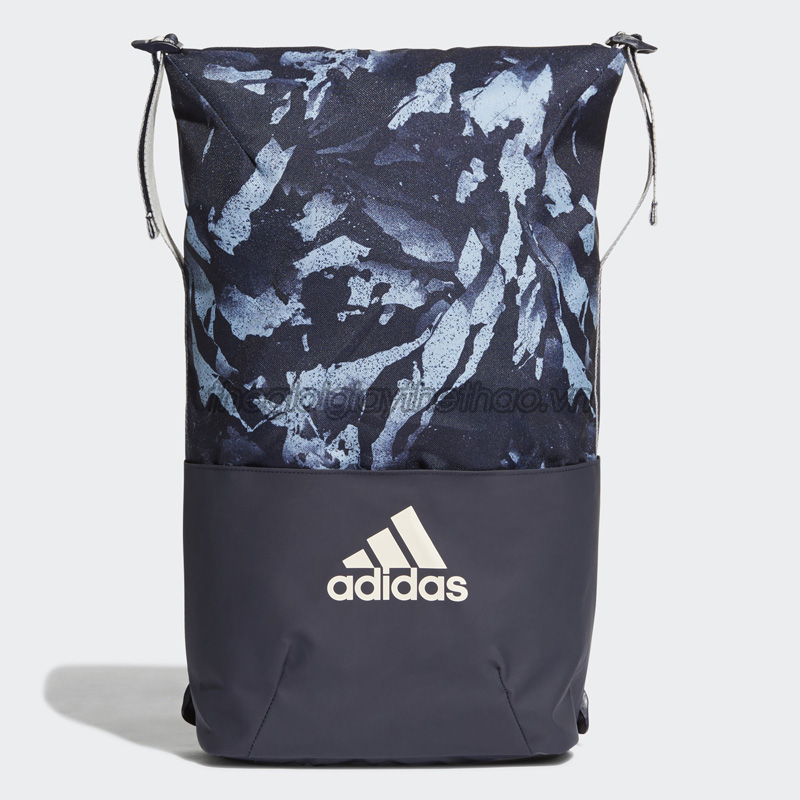 Balo adidas Z.N.E. Core Graphic Backpack - Blue - DT5088