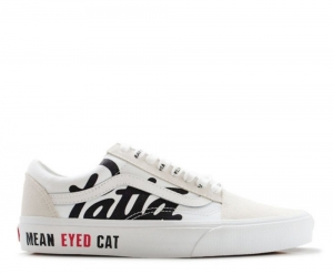 "Giày Patta X Beams X Vans Old Skool ""Mean Eyed Cat"""