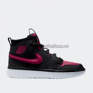 Giày Nike Jordan 1 High React Black Noble Red AR5321-006