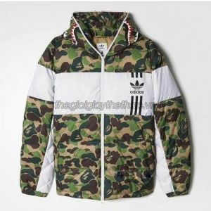 Áo khoác Nam Adidas Originals Outlet Men ID96 Down X-Bape