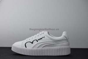 Giày Puma x Fenty Cleated Creeper Black & White