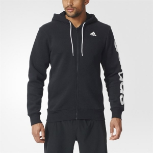 Áo Adidas Sports Essentials Linear FZ Hood