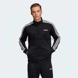 Áo nam adidas Essentials 3-Stripes Tricot Track Jacket - Black DQ3070