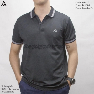 Áo Am Polo Men AM Black MP119