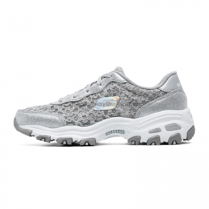Giày Skechers Skye d'lites lace breathable sports 66666016
