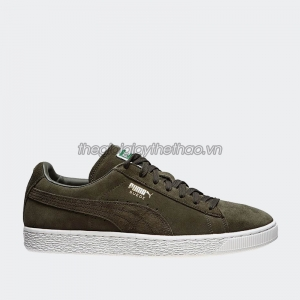 Giày Puma Suede Classic forest night-white