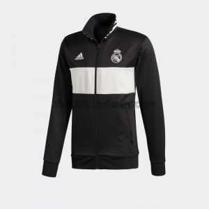 Áo adidas Real Madrid 3-Stripes Track Jacket - Black